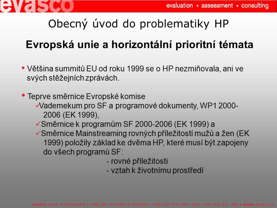 Úkoly pracovníků implementační struktury operačního programu ve vztahu k HP Evasco s.r.o.