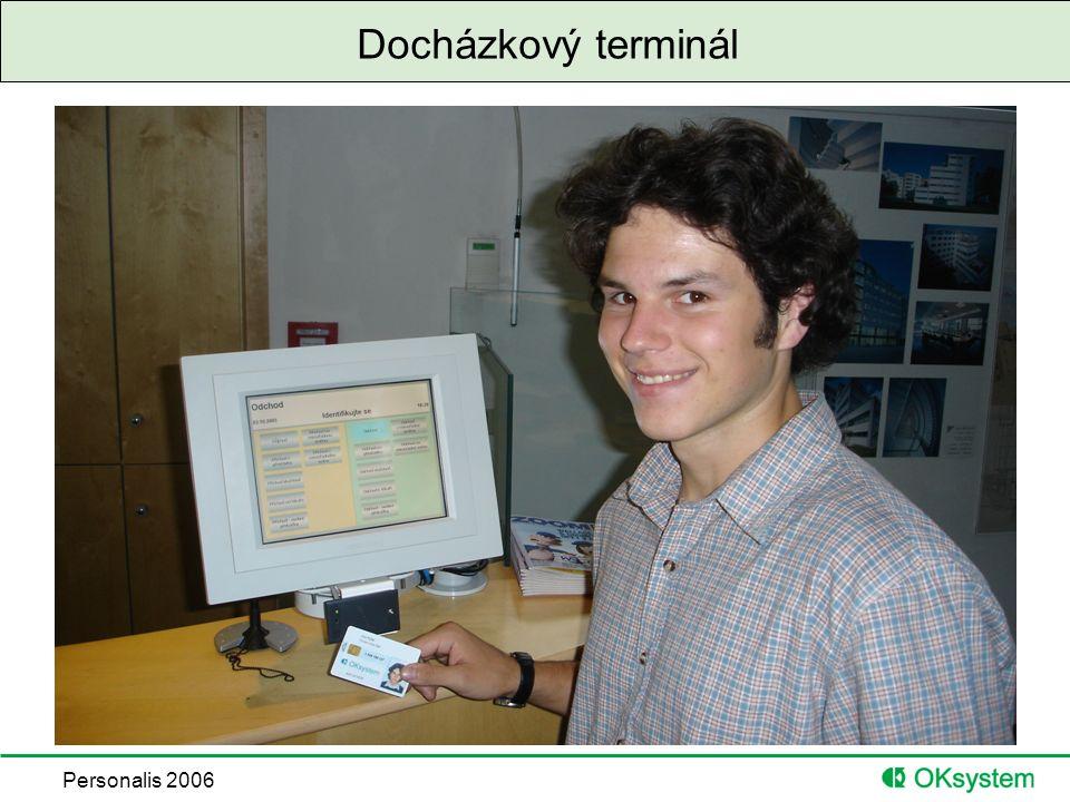 Personalis 2006 Docházkový terminál