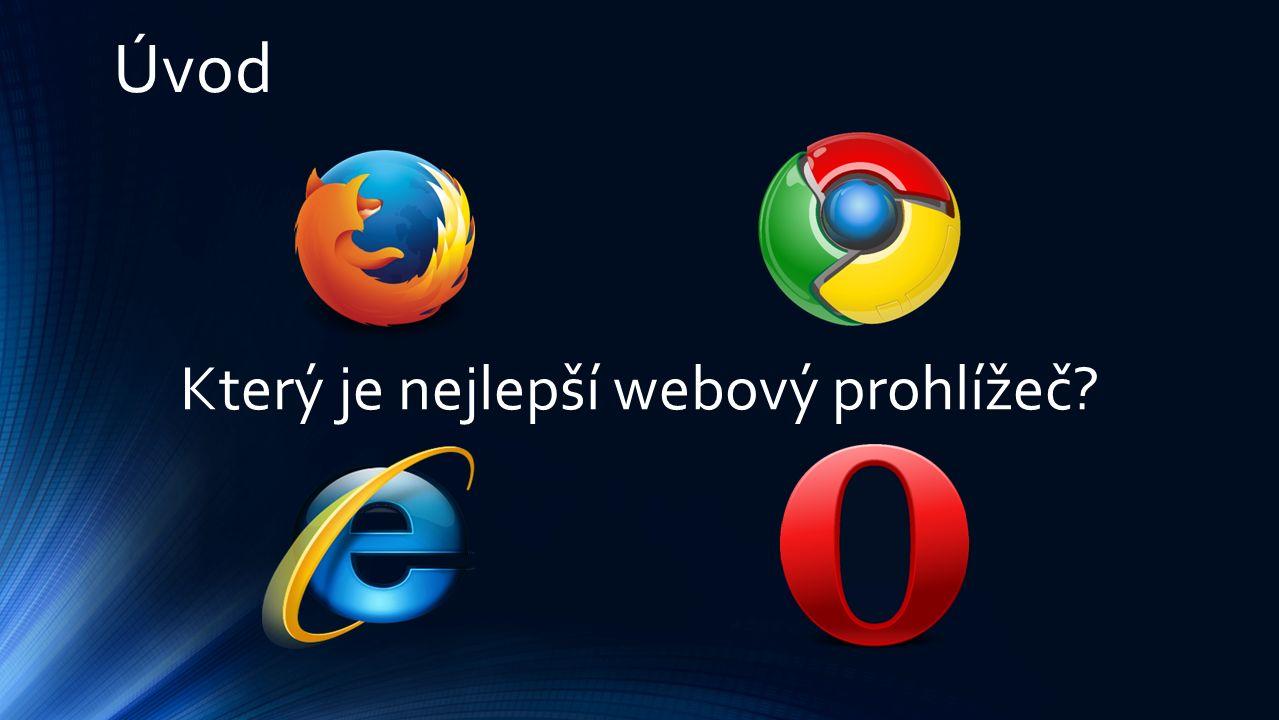 Úvod Který je nejlepší webový prohlížeč