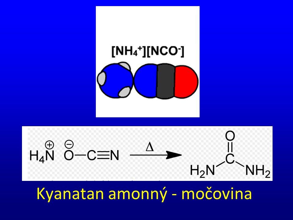 Kyanatan amonný - močovina