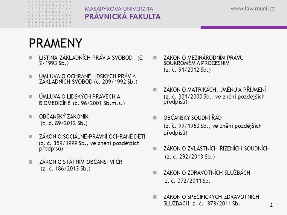 www.law.muni.cz TZV.KONVERZE 1. DOMNĚNKY VE 2.