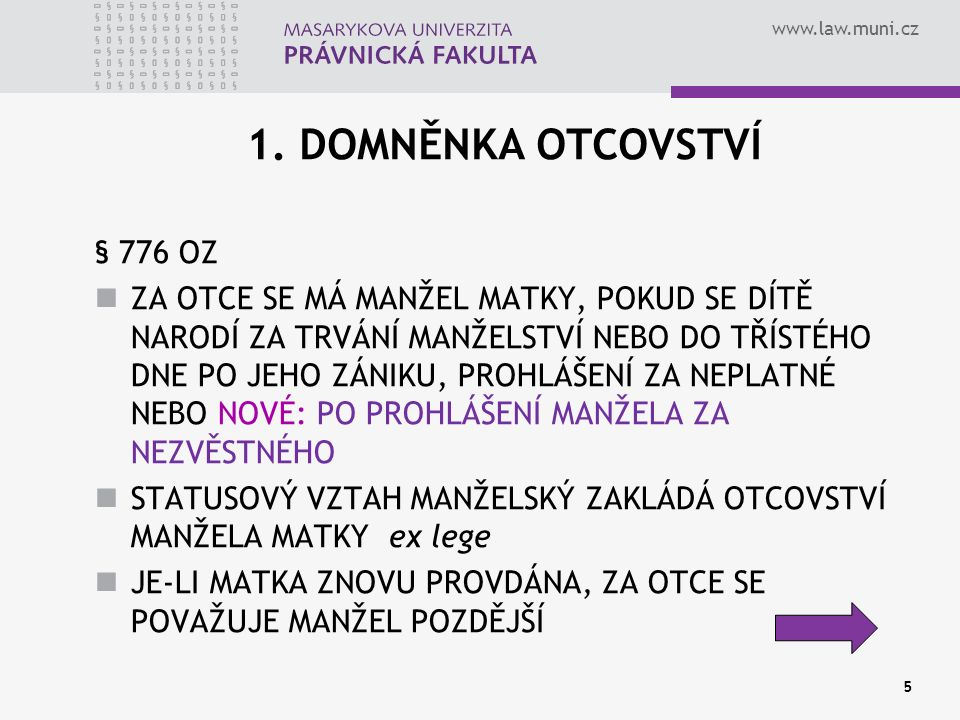 www.law.muni.cz 16 2.