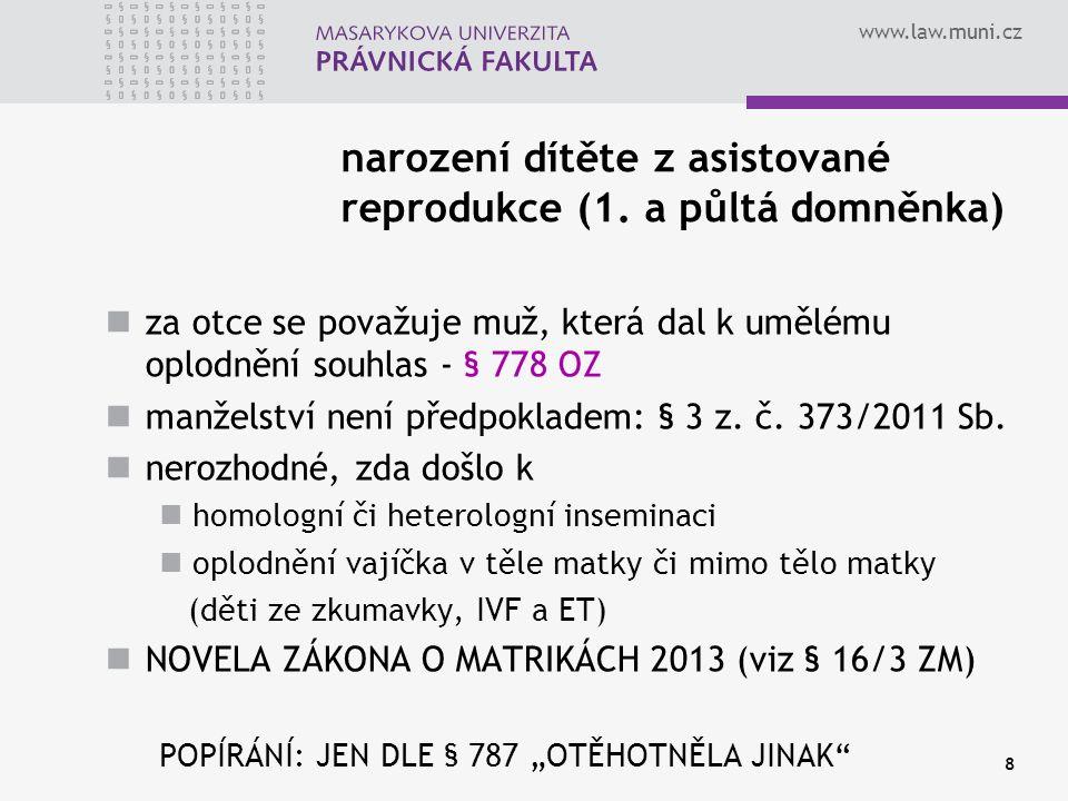 www.law.muni.cz 9 POPŘENÍ 1.