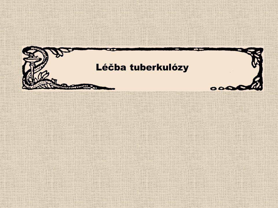 Léčba tuberkulózy