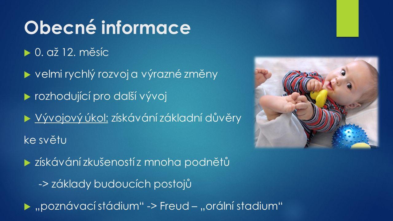 Obecné informace  0. až 12.