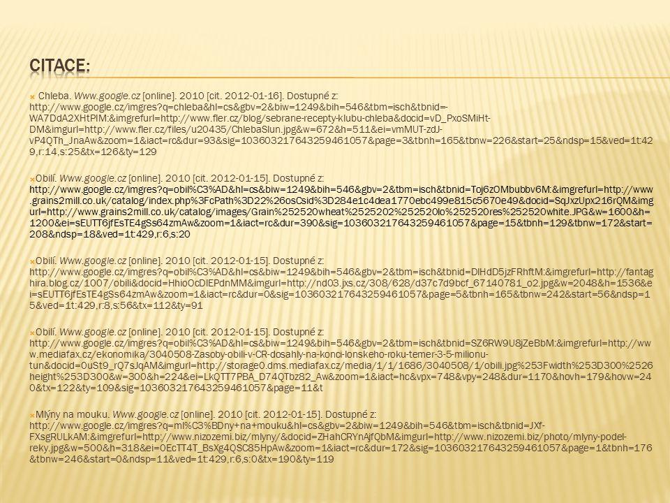  Chleba. Www.google.cz [online]. 2010 [cit. 2012-01-16].