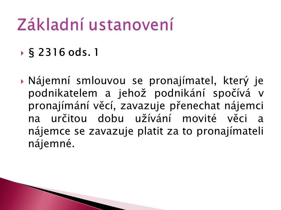  § 2316 ods.