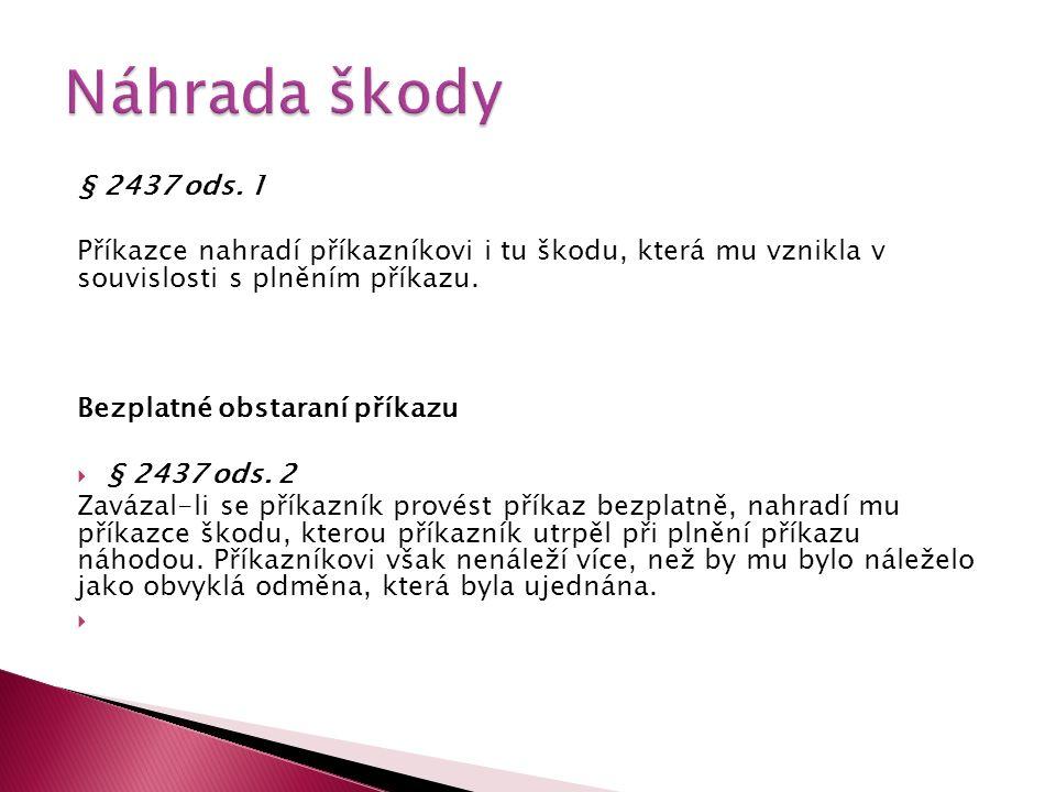 § 2437 ods.