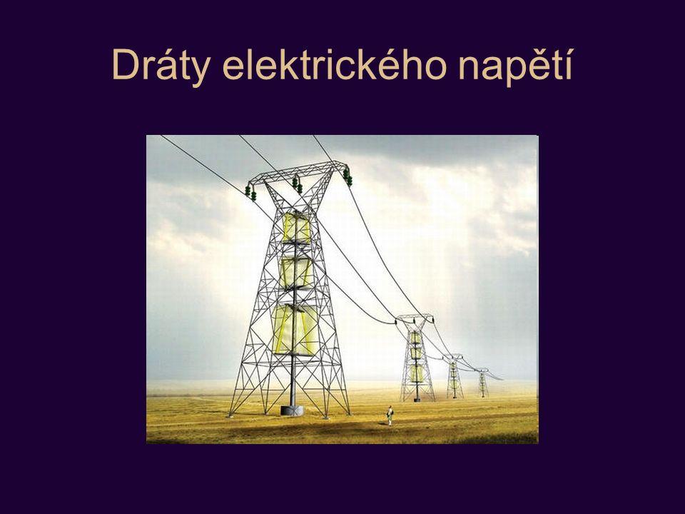 Dráty elektrického napětí
