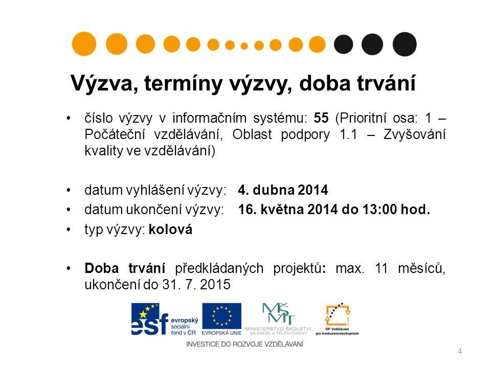 12.– 16. května 2014, vždy do 13:00 hod.