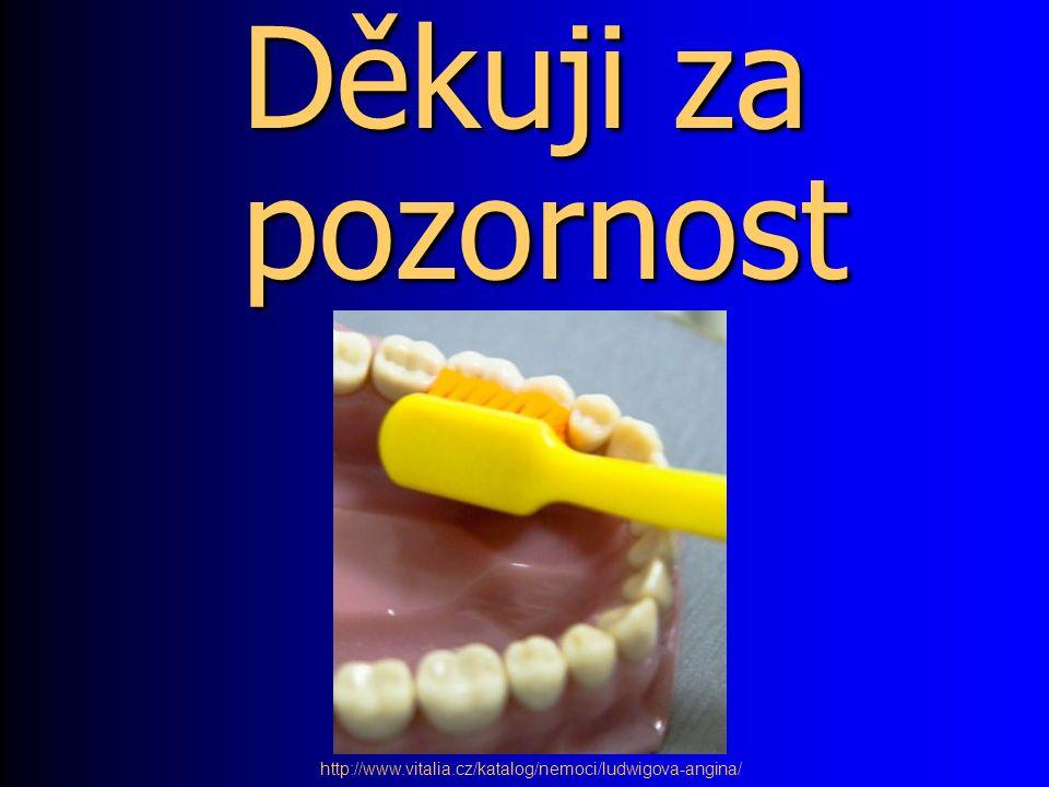 Děkuji za pozornost http://www.vitalia.cz/katalog/nemoci/ludwigova-angina/