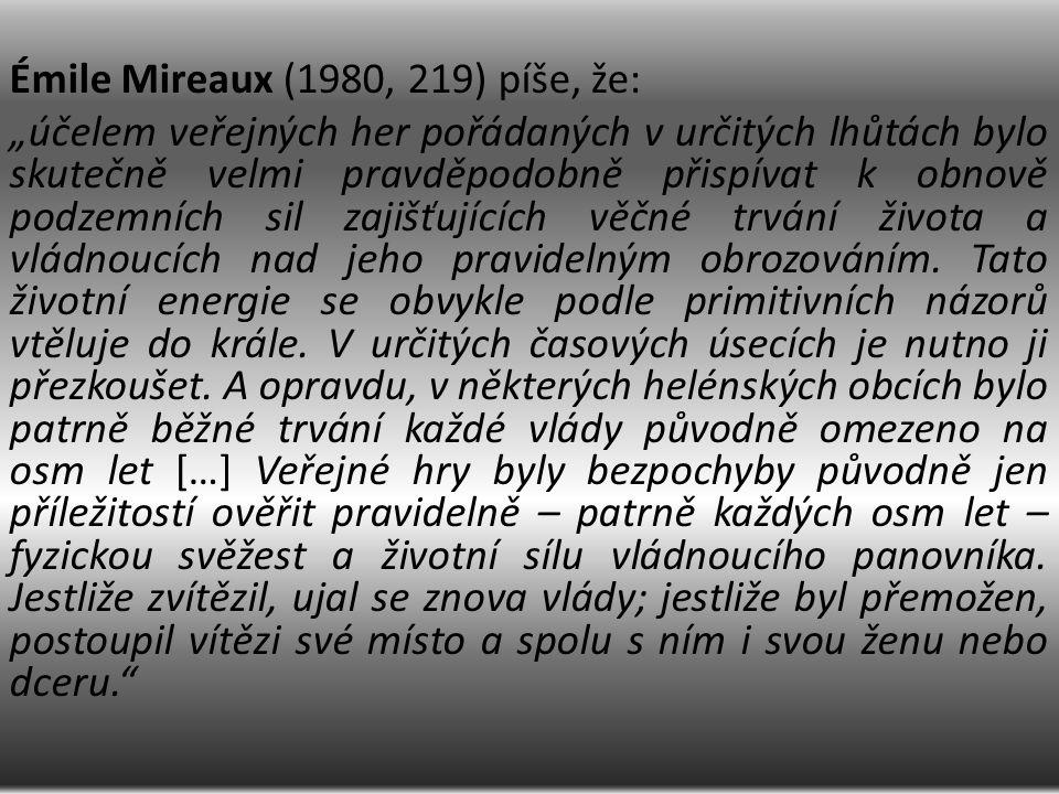 historik F.Mezö Dějiny olympijských her Pravěk (do roku 776 př.