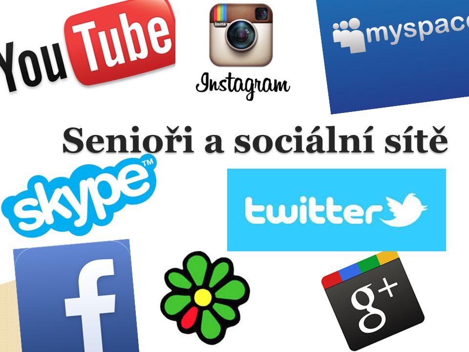 Senioři a sociální sítě