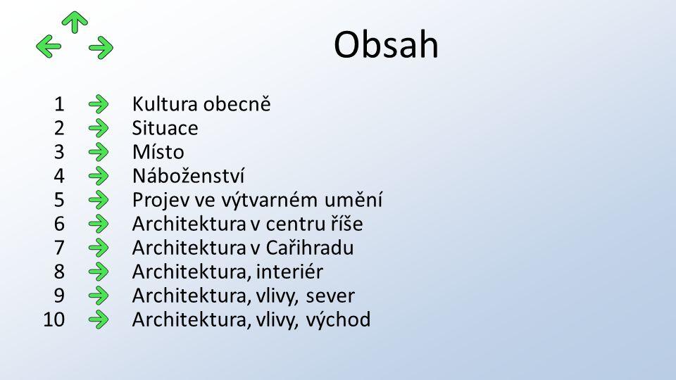 Vlivy v architektuře Sakrální (církevní) architektura v zemích, kde měla vliv ortodoxní církev v ukázkách směrem nejdříve na sever (od centra říše), například na Ukrajině: sv.