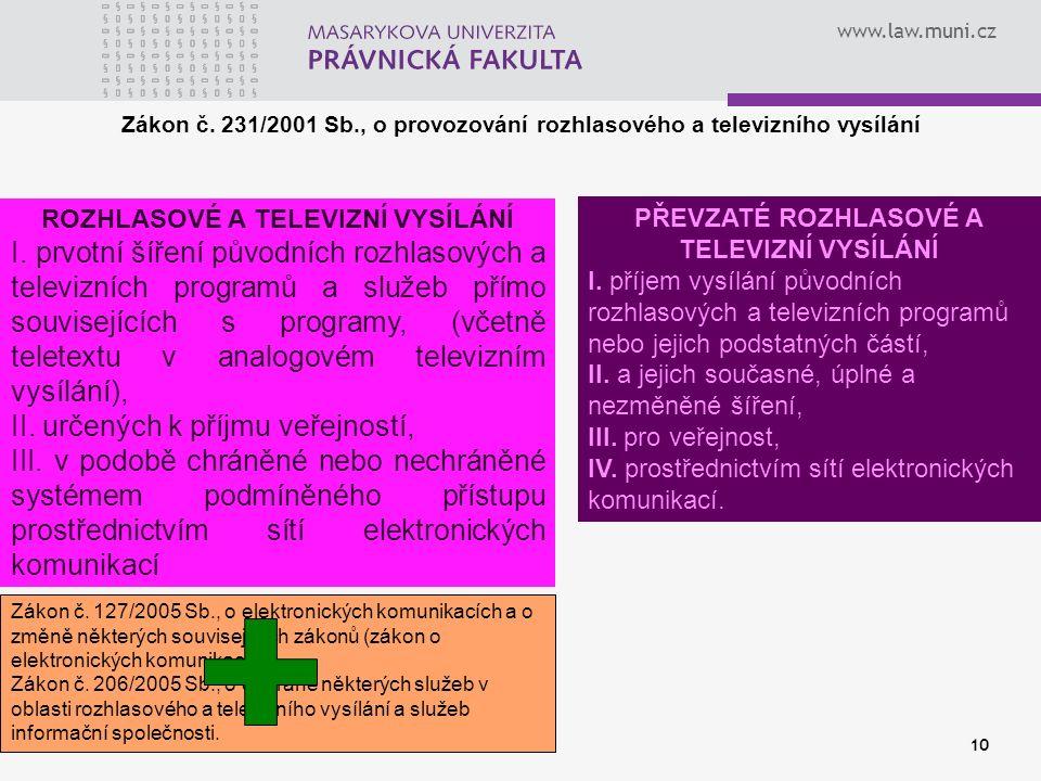 www.law.muni.cz 10 Zákon č.
