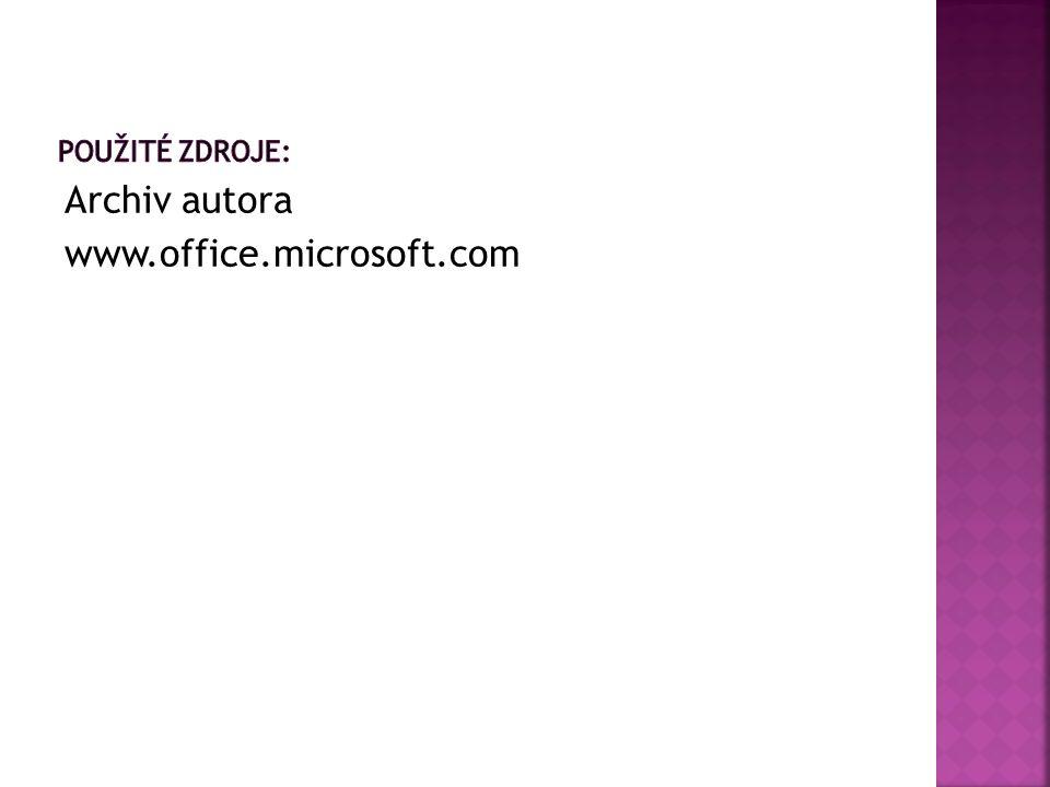 Archiv autora www.office.microsoft.com