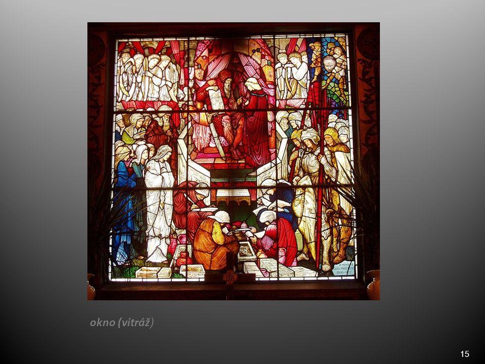 15 okno (vitráž )