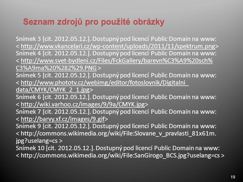 19 Snímek 3 [cit. 2012.05.12.].