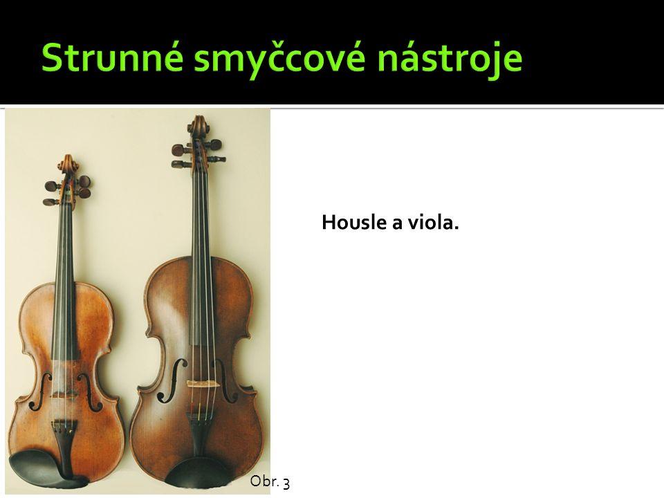 Housle a viola. Obr. 3