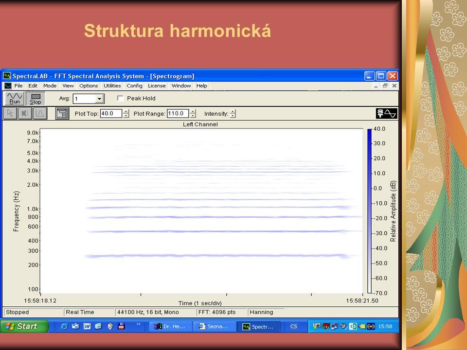 Struktura harmonická