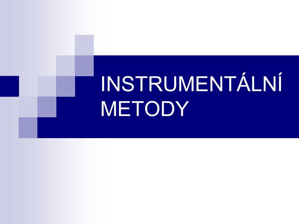 INSTRUMENTÁLNÍ METODY