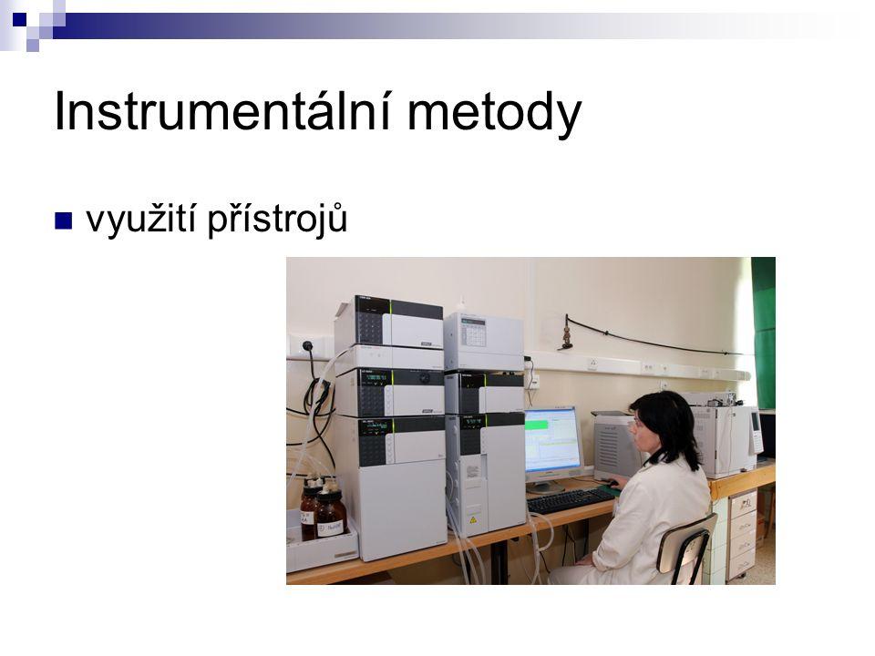Instrumentální metody využití přístrojů
