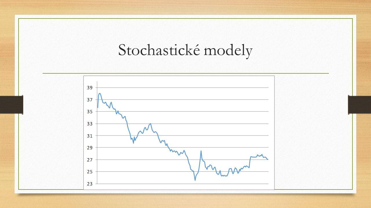 Stochastické modely