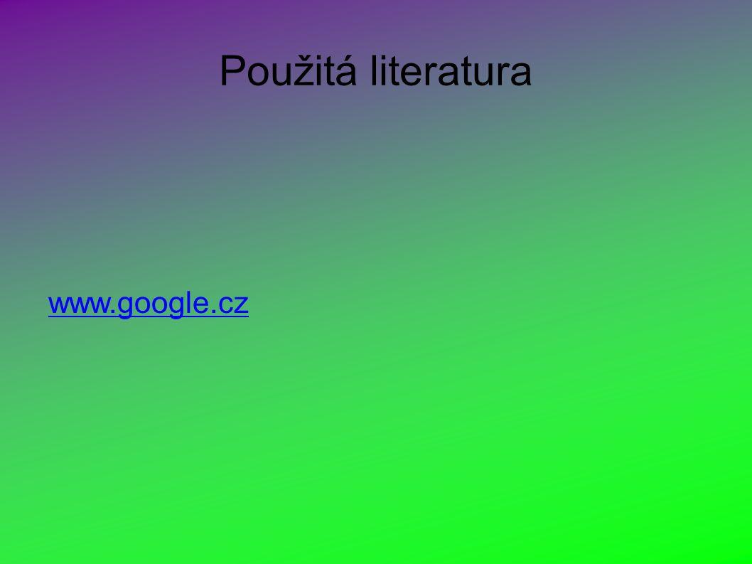 Použitá literatura www.google.cz