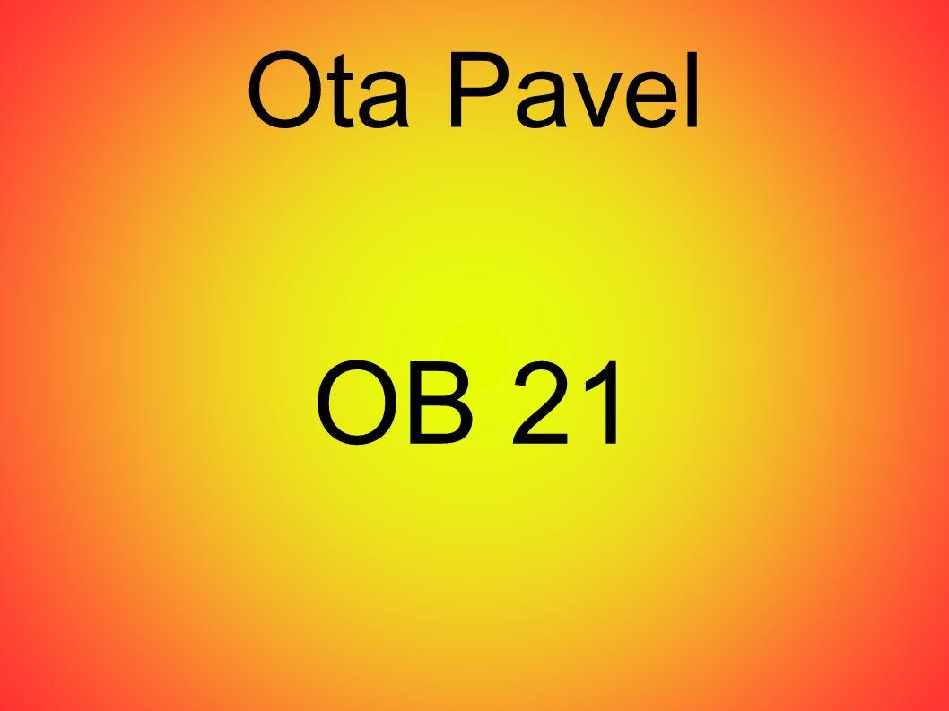 Ota Pavel OB 21