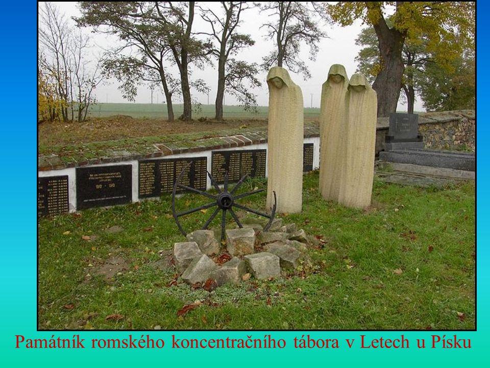 Památník romského koncentračního tábora v Letech u Písku