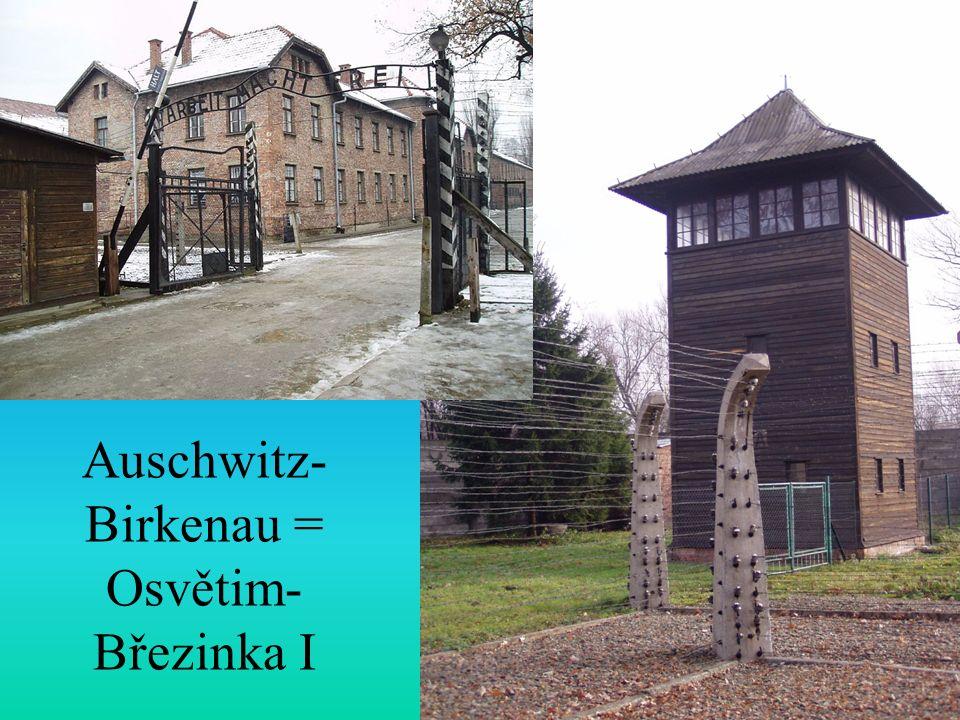 Auschwitz- Birkenau = Osvětim- Březinka I