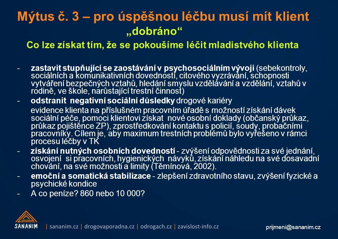 prijmeni@sananim.cz Mýtus č.