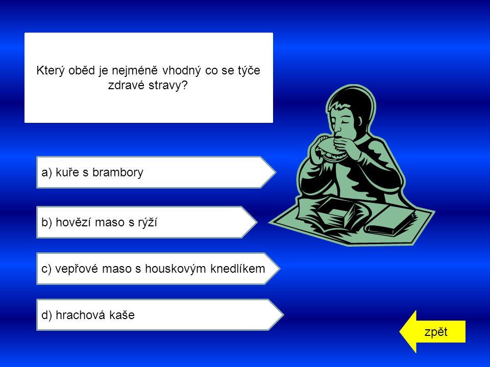zpět a) játra b) plíce c) ledviny d) slezinu Který orgán lidského těla vidíš na obrázku?