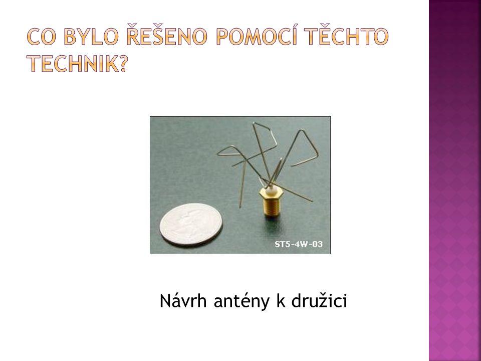Návrh antény k družici