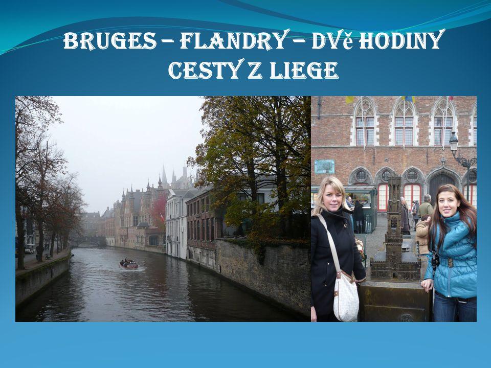 Bruges – Flandry – dv ě hodiny cesty z Liege