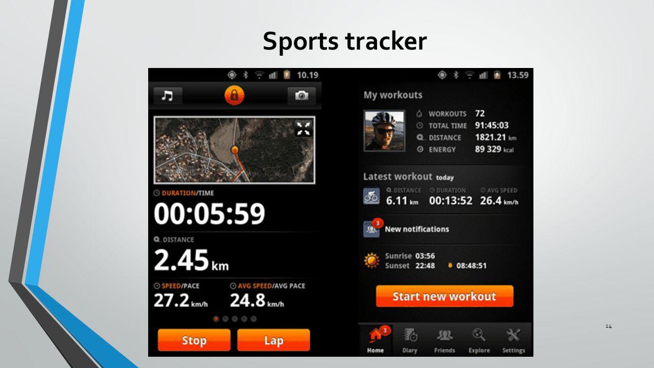 Sports tracker 14