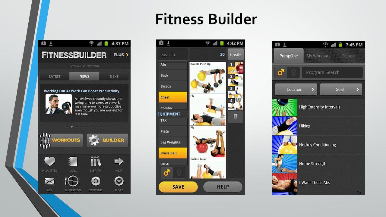 Fitness Builder 24