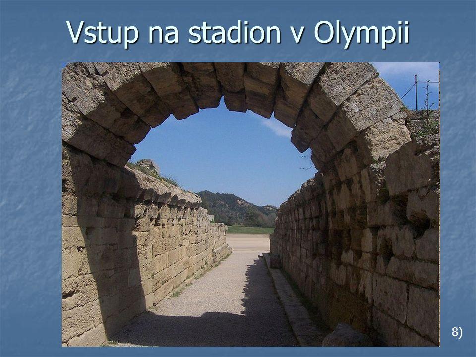 Vstup na stadion v Olympii 8)