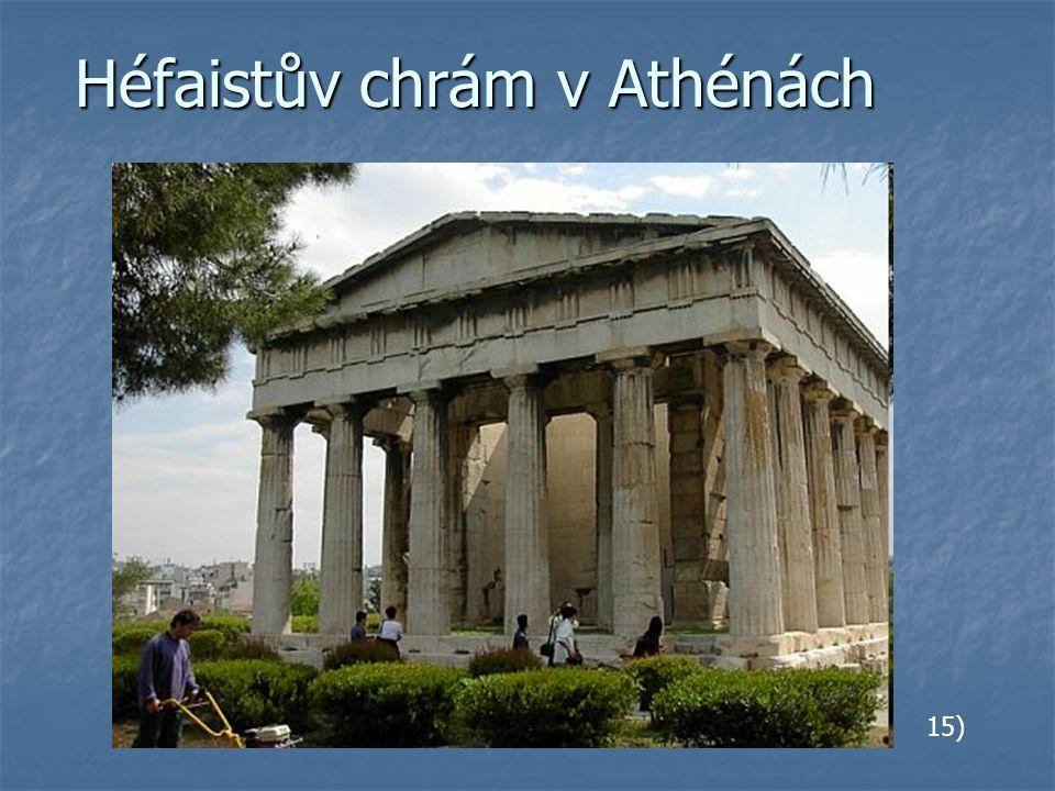 Héfaistův chrám v Athénách 15)