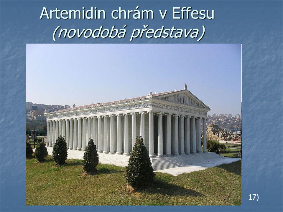 Artemidin chrám v Effesu (novodobá představa) 17)