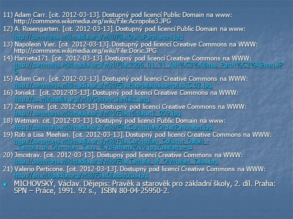 11) Adam Carr. [cit. 2012-03-13].