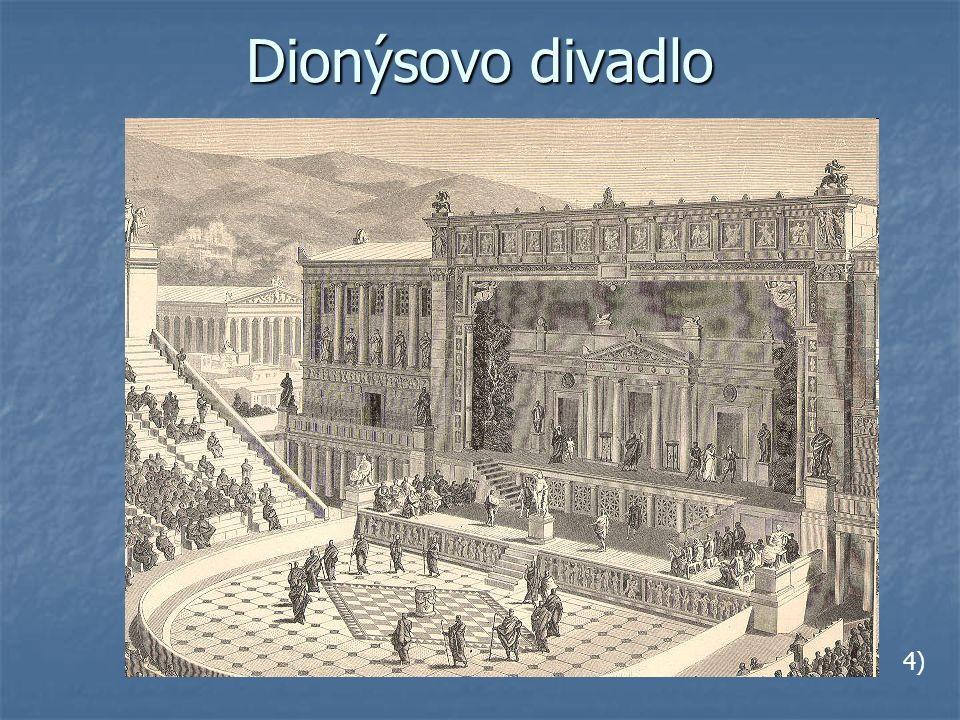 Dionýsovo divadlo 4)