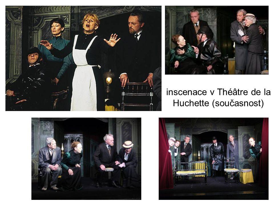 inscenace v Théâtre de la Huchette (současnost)