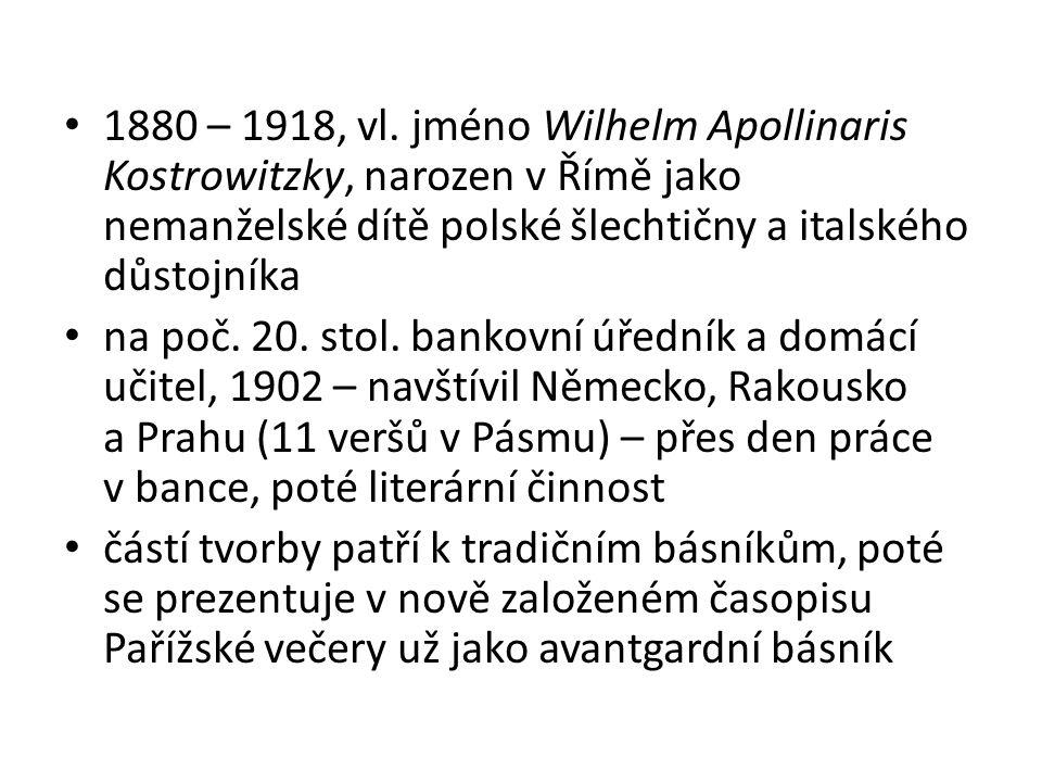 1909 – román Zahnívající čaroděj (inspirace pro V.