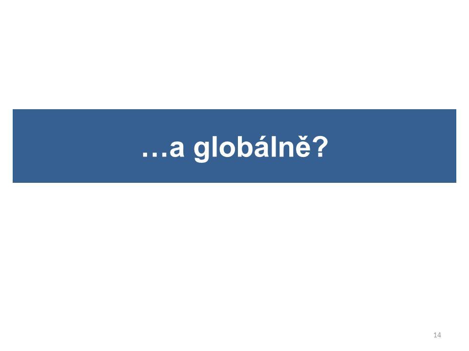 …a globálně? 14
