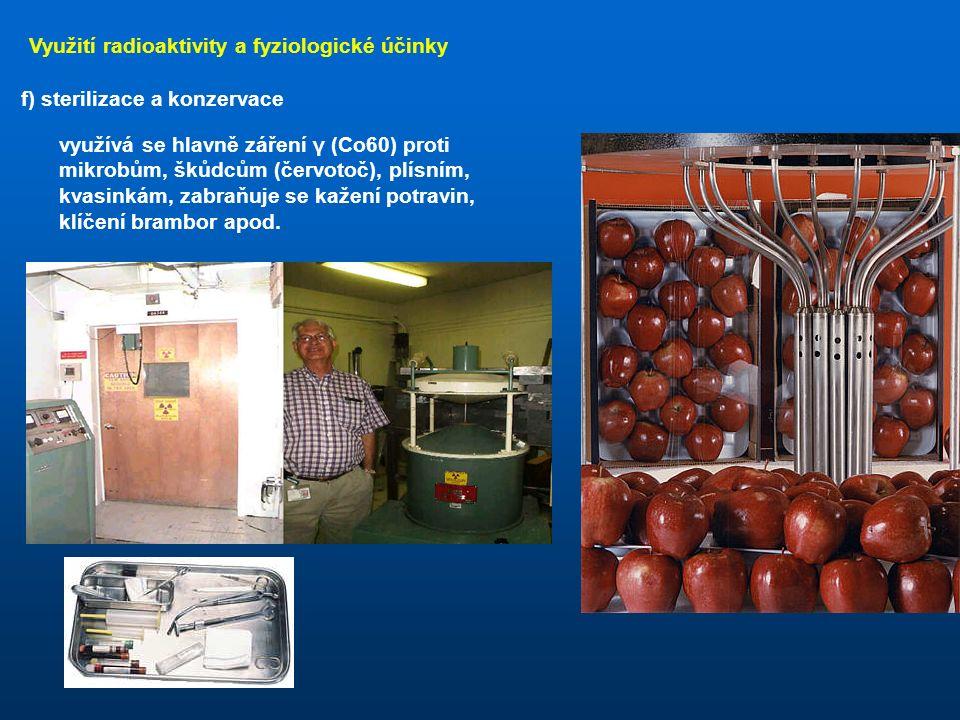 Využití radioaktivity a fyziologické účinky e) lékařství - terapie lineární urychlovač
