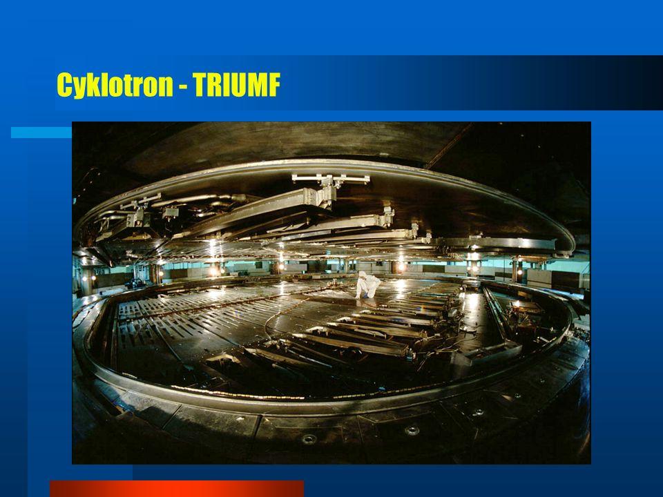 Triumf 1972 (Vancouver - Kanada) - protony 520 MeV
