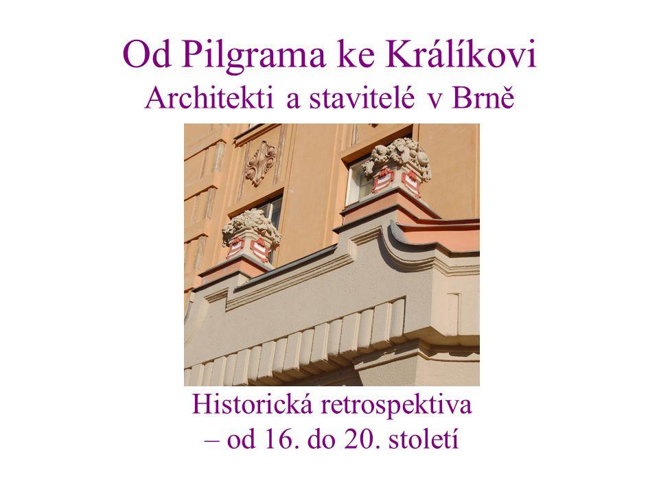Profesoři České vysoké školy technické v Brně Vladimír Fischer (1870–1947) vlevo Karel Hugo Kepka (1869–1924) Jiří Kroha (1893–1974) Emil Králík (1880–1946) nahoře