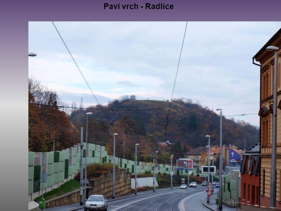 Paví vrch - Radlice