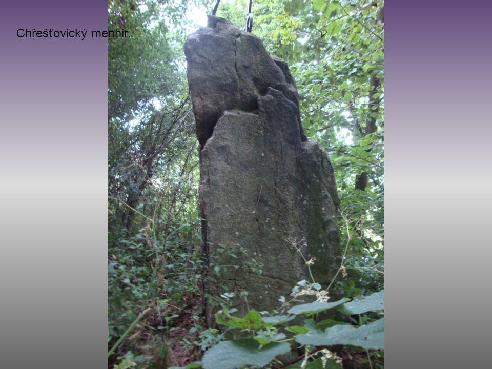 Chřešťovický menhir.